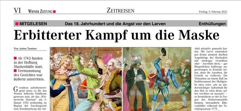 Tantner_Maske_WIenerZeitung-Zeitreisen_20210205_SVI_Ausschnitt2