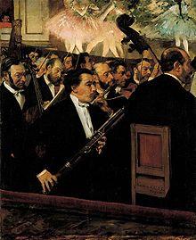 Edgar Degas: L'Orchestre de l'Opéra