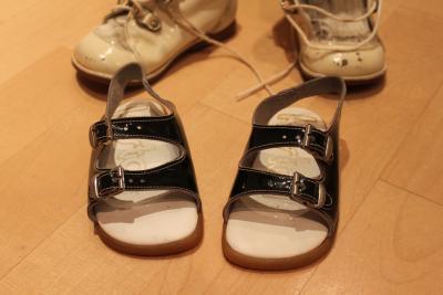 Babyschuhe-schwarz