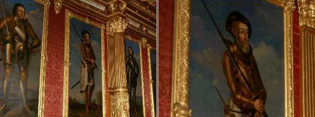 Christoph I., Markgraf von Baden (t 1527)<br /> Badischer Hofmaler, um 1843/47, &Ouml;l auf Leinwand 219 x 108, Kircher 173 (B 144). <br /> Neues Schloss Baden-Baden, N&ouml;rdlicher Prunksaal.