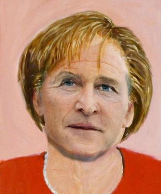 Die leicht verbesserte Ausführung des expräsidialen Gemäldes zeigt, dass Bush sich mit Freud als wirklich mächtige Person darstellen und gleichzeitig seine feminine Seite zeigen wollte.