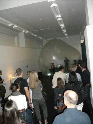 Transformierte Rede von Marcus Kettel auf der Vernissage