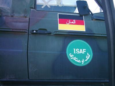 bundeswehrfahrzeug in afghanistan