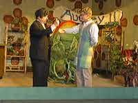 Szene aus der Inszenierung im Jahr 1999 in der Balver Höhle (Foto: Thomas Emde)