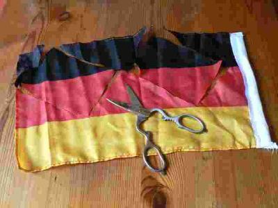 Flagge vorher