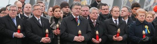 Ukraine mit Gauck