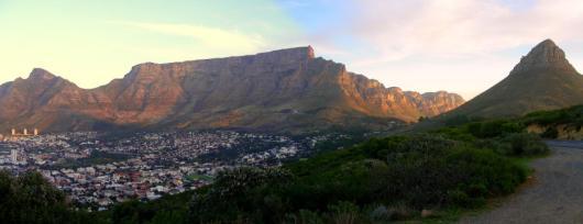 Panorama Tafelberg, 12 Apostel und Lion's Head