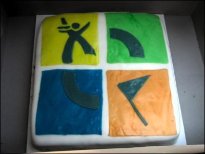 Geocaching-Cake
