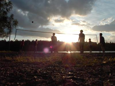 volleyball in falun