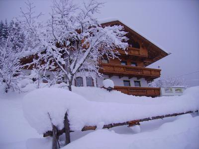 Haus-Winterfoto