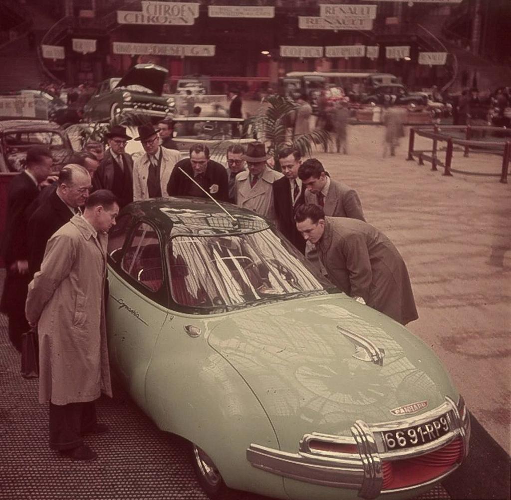 Panhard dynavia 1948 fotoalbum for Salon de paris auto
