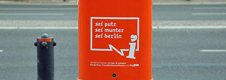 Berlin sei putz sei munter sei berlin