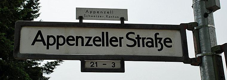 Berlin Appenzeller Strasse