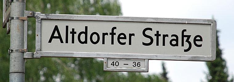 Berlin Altdorfer Strasse