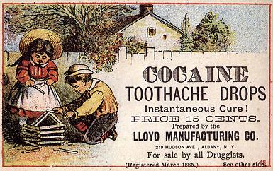 werbung fuer tropfen gegen zahnschmerzen für kinder