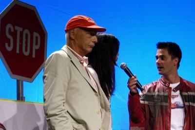 Niki Lauda bei der Cars-Gala