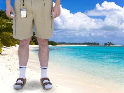 Deutsche in Urlaub