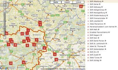 Kloesterreich-Karte