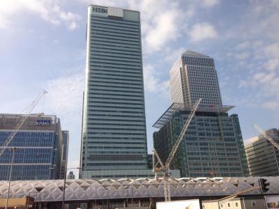 Gebäude in London - Nähe LCY