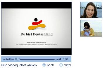 Werbespot zur Kampagne 'Du bist Deutschland'