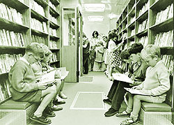 In 1965, this £2,865 library in Wednesbury gave children the chance to choose from more than 3,000 books inside