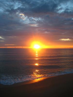 Sonnenaufgang, Daytona Beach, Florida