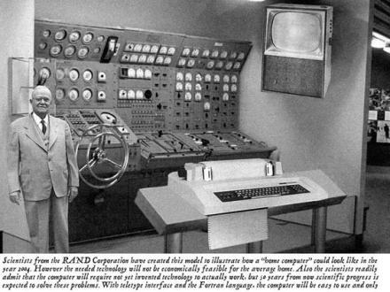 Zukunftsvisionen von Computern...