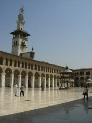 Omaiyaden Moschee Hof