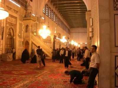 Omaiyaden Moschee innen