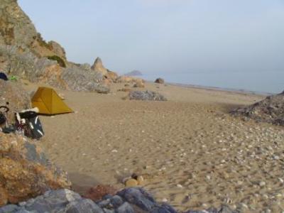 Traumplatz im Sand