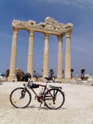 Apollon und Athene und Kreidler-Alu