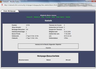maraca-nickpage-statistik