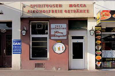 Wien, Westend: Der letzte Branntweiner vom Urban-Loritz-Platz (2015) ©2015 B.K.
