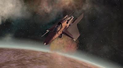 """Die """"Viper"""". Ein wenig Galactica-Flair im Star Wars Universum."""