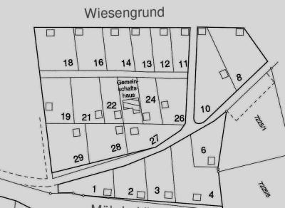 Parzellenplan-Wiesengrund