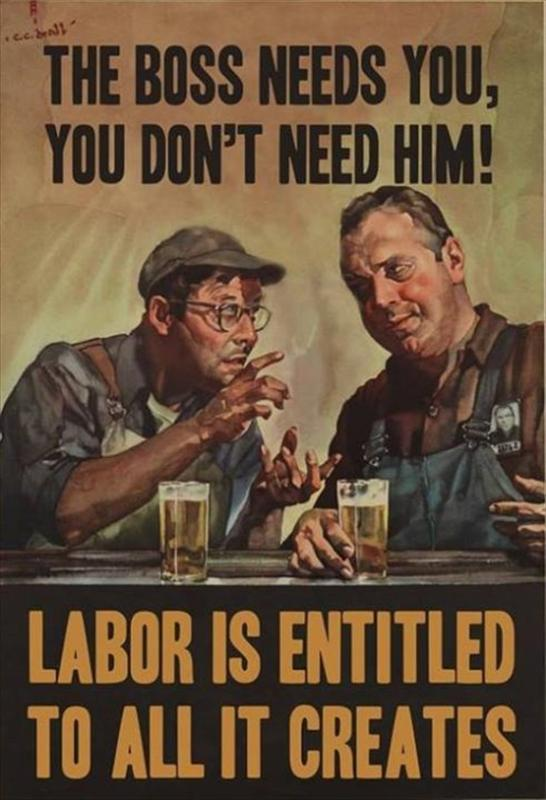 Labor-creates