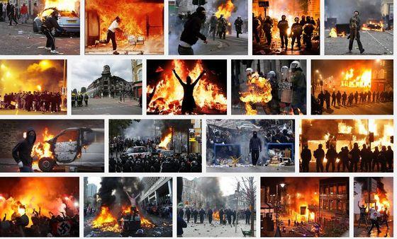 riots-Google-Suche