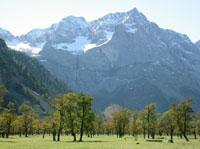 Großer Ahornboden im Tiroler Karwendelgebirge