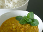 "Chana Dhal: Kichererbsen ""spicy"" fertig"