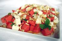 Nachgebastelt und leicht adaptiert: Sommerlicher Melonensalat mit Feta