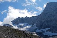 Am Fuße des Olperer-Gletschers - Aufstieg via Geraer Hütte vom Valser Tal aus