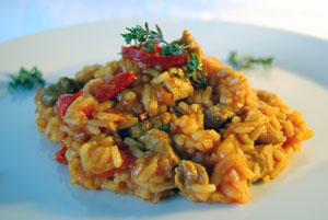 Djuvec - Serbisches Reisfleisch