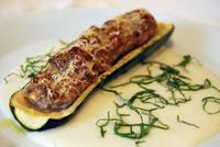 Zucchine ripiene di carne - Zucchini mit würziger Fleischfülle