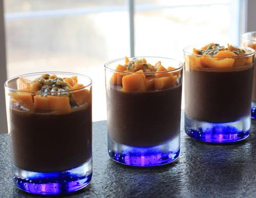 Chia-Schokoladen-Pudding