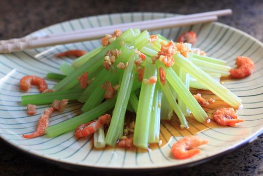 Chinesischer-Selleriesalat-Shrimps