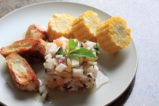 Jicama-Ananas-Salsa