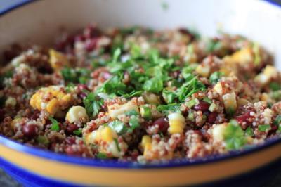 Quina-Salat-mexikanisch-angehaut
