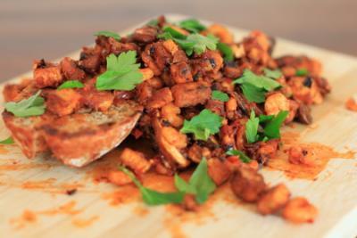 Tofu-Krabben-Broetchen