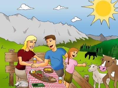 gesundheitstipps tierischer bergurlaub f r die ganze familie im bergdorf der tiere. Black Bedroom Furniture Sets. Home Design Ideas
