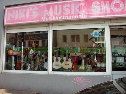 Nikis-Musicshop